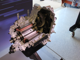 The Bolt EV's drive unit includes powerful magnets that can create negative torque to slow the...