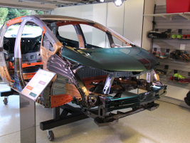 The Bolt EV optimizes materials by usingseven kinds of steel and aluminum in the body and frame.