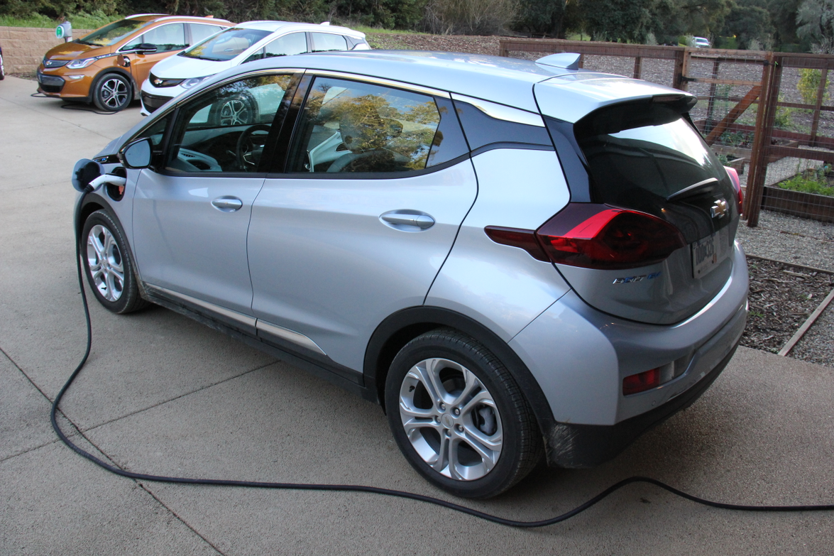Chevrolet is partnering with Aerovironment, which will provide a 32-amp charger for $699...