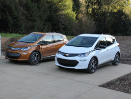 Chevrolet considers the Bolt EV a crossover that's similar in size to the Trax.