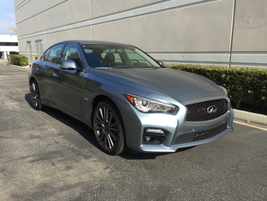 The 2017 Q50 Red Sport 400 offers one of a trio of new engines for the entry luxury sedan.