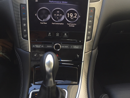 Infiniti's InTouch system uses two displays to deliver an array of infotaimnent.