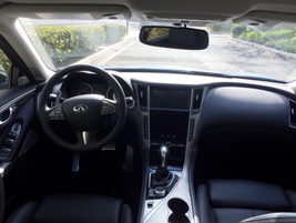 Infiniti has upgraded technology offerings in the cabin.