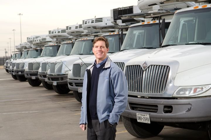 Michael Ahart, VP of transportation for Dean Foods, has been with the company since 2000. He is...