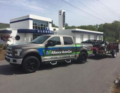 The first stop on the tour was in Kansas City, Mo. (PHOTO: Alliance AutoGas)