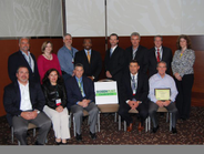 Commercial fleet award recipients in attendance were top row, (l-r): James Cooper (on behalf of...