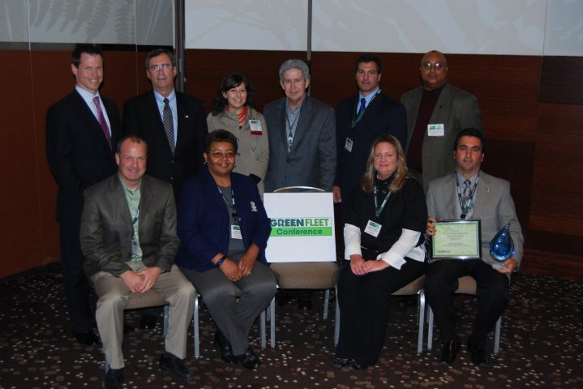 Public Sector Environmental Leadership Award winners attending the Green Fleet Conference were:...