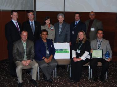 Public Sector Environmental Leadership Award winners attending the Green Fleet Conference were:...