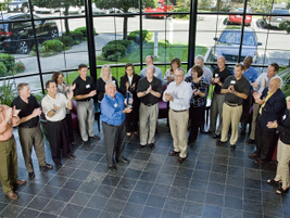In 2010, Chrysler Fleet honors Ed and his team for their many years of a great partnership.