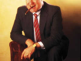 1994. Ed Bobit as most of us think of him: smiling and with a cigar in his mouth. In his April...