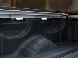 Rear storage has been increased by 28 percent from the previous generation Titan.