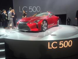 Lexus LC 500 luxury coupe