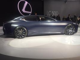 Lexus LF-FC concept luxury car