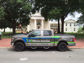The Alliance AutoGas tour hits Little Rock, Ark. (PHOTO: Alliance AutoGas)