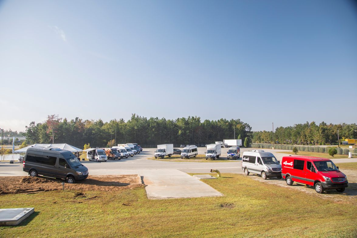 Journalists were given the opportunity to test-drive various Sprinter models at the...