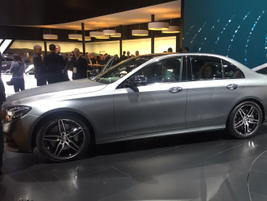 2017 Mercedes-Benz E-Class luxury sedan