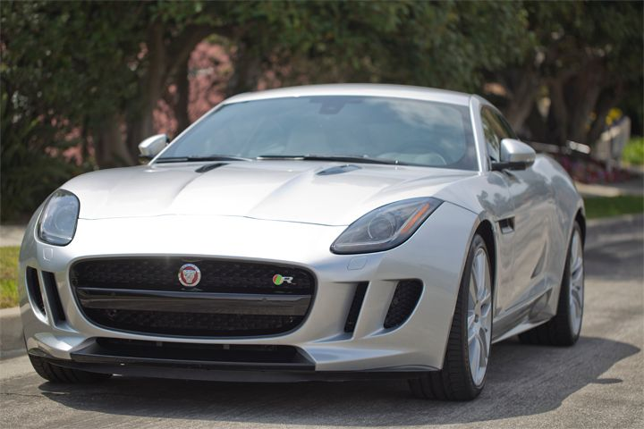 The Jaguar F-Type R is powered by a supercharged 5.0L V-8 that generates 550 hp.