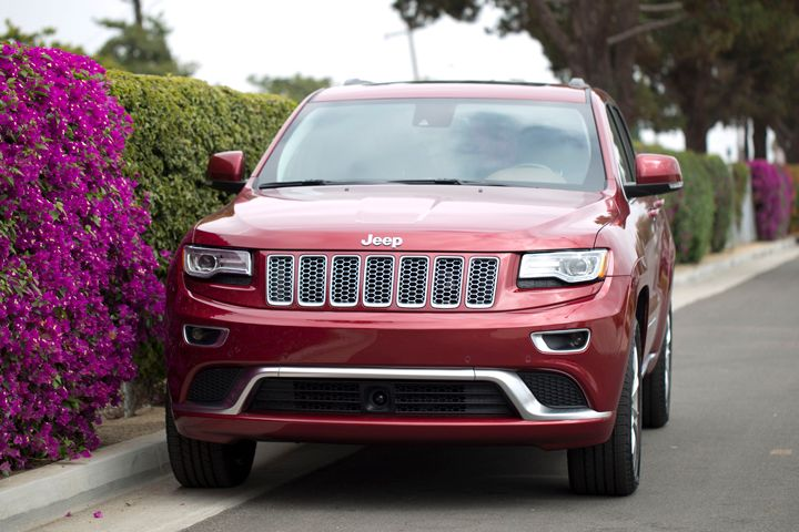 The Grand Cherokee Summit offers impressive fuel economy and near-luxury appointments.