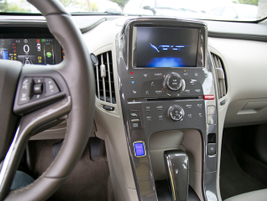 The Volt arrives with a 7-inch display, leather wrap steering wheel, and