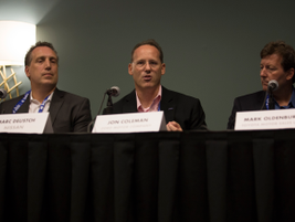 Marc Deustch of Nissan, Jon Coleman of Ford, and Mark Oldenburg of Toyota provide overviews of...