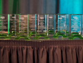 Awards were presented to fleet managers for their efficiency and sustainability efforts.