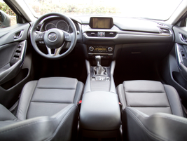 The 2016 model gets an improved armrest design. This model includes a manual transmission.