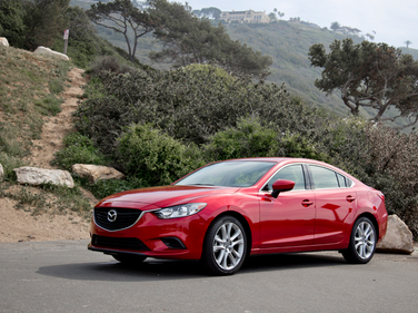 The 2016-MY Mazda6 is powered by a 2.5-liter inline-4 producing 184 hp and 185 ft.-lb. of torque.
