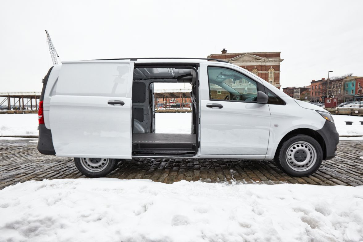 The Metris is comparable in length (202.4 inches) with the Ram C/V Tradesman (202.8 inches).