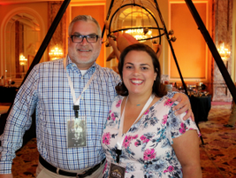 Martin Kiel and Michelle Franco-Birriel of Volkswagen of America