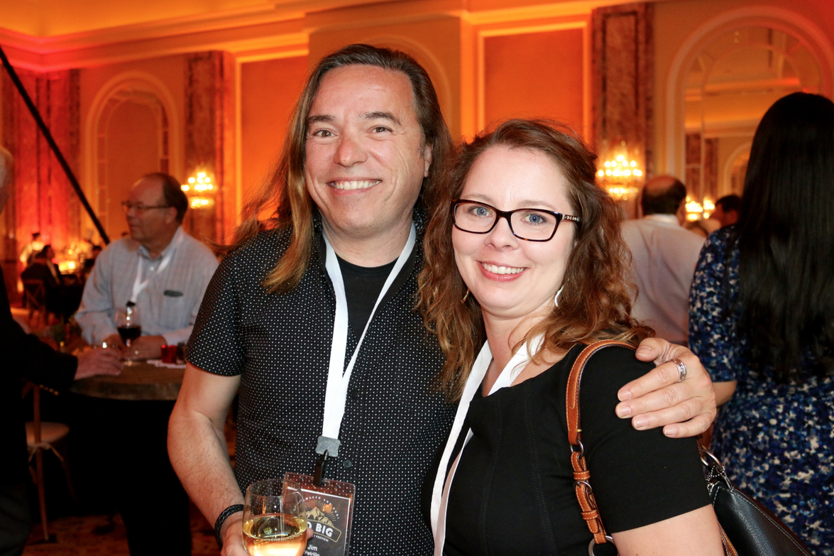 Jim Petrillo of Fujifilm Holdings America and Elizabeth Kelly of LeasePlan USA
