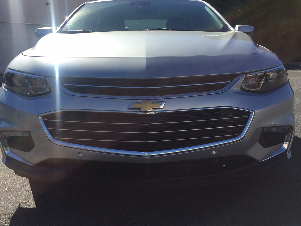 The 2016 Malibu features sweeping headlights and a progressive take on the the brand's dual-port...