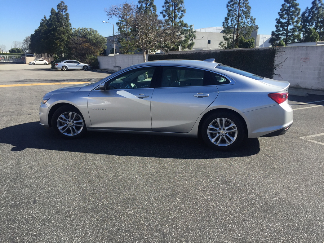 The 2016 Malibu's wheelbase is 3.6 inches longer than the 2015 model.
