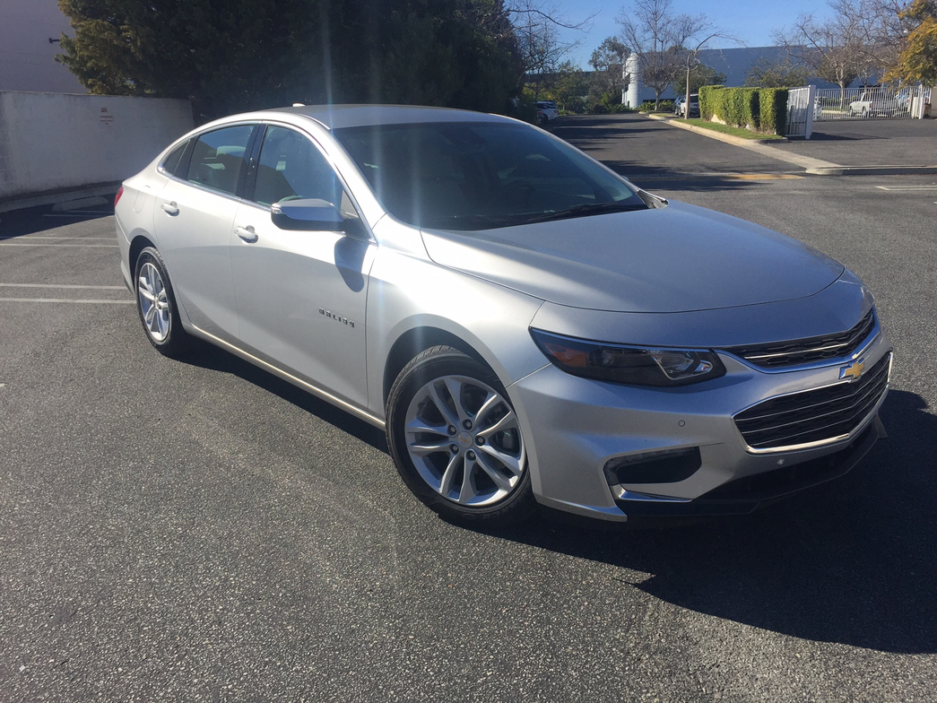The 2016 Malibu includes numerous styling, equipment, and safety upgrades. Pictured is the LT trim.