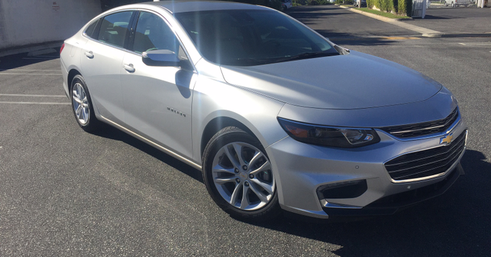 The2016 Malibu includes numerous styling, equipment, and safety upgrades. Pictured is the LT trim.