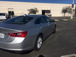 The 2016 Malibu has an estimated curb weight of 3,126 pounds.