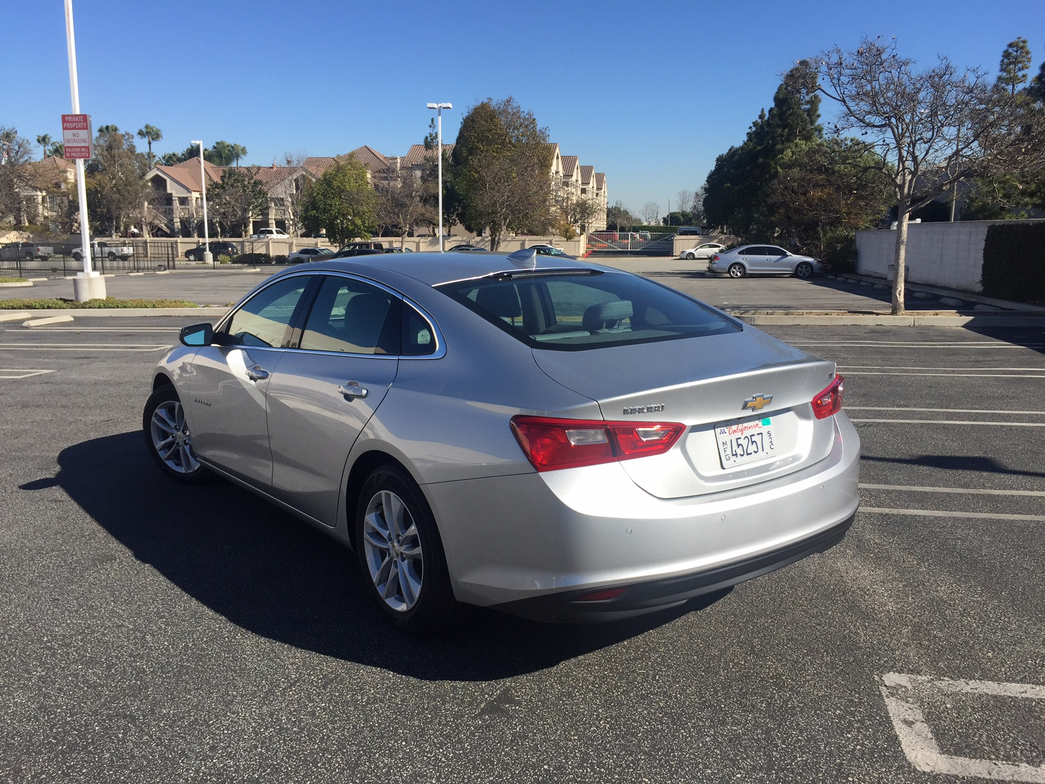 In addition to improved styling, the 2016 Malibu is 300 pounds lighter than the previous model.