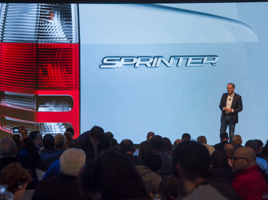 The event set up six labs including Sprinter Versatility, eSprinter, Sprinter Digitalization and...