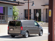 The Metris cargo van offers 4,960 pounds of towing capability.