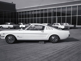 While enthusiasts refer to the first Mustangs as 1964 1/2 models, the automaker designated them...