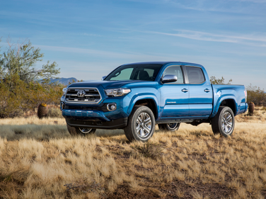 Toyota's 2016 Tacoma Mid-Size Pickup