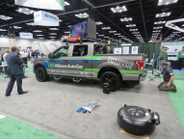 """Alliance AutoGas converted a Ford F-150 using its 'plug 'n play' bi-fuel conversion kit """"live""""..."""