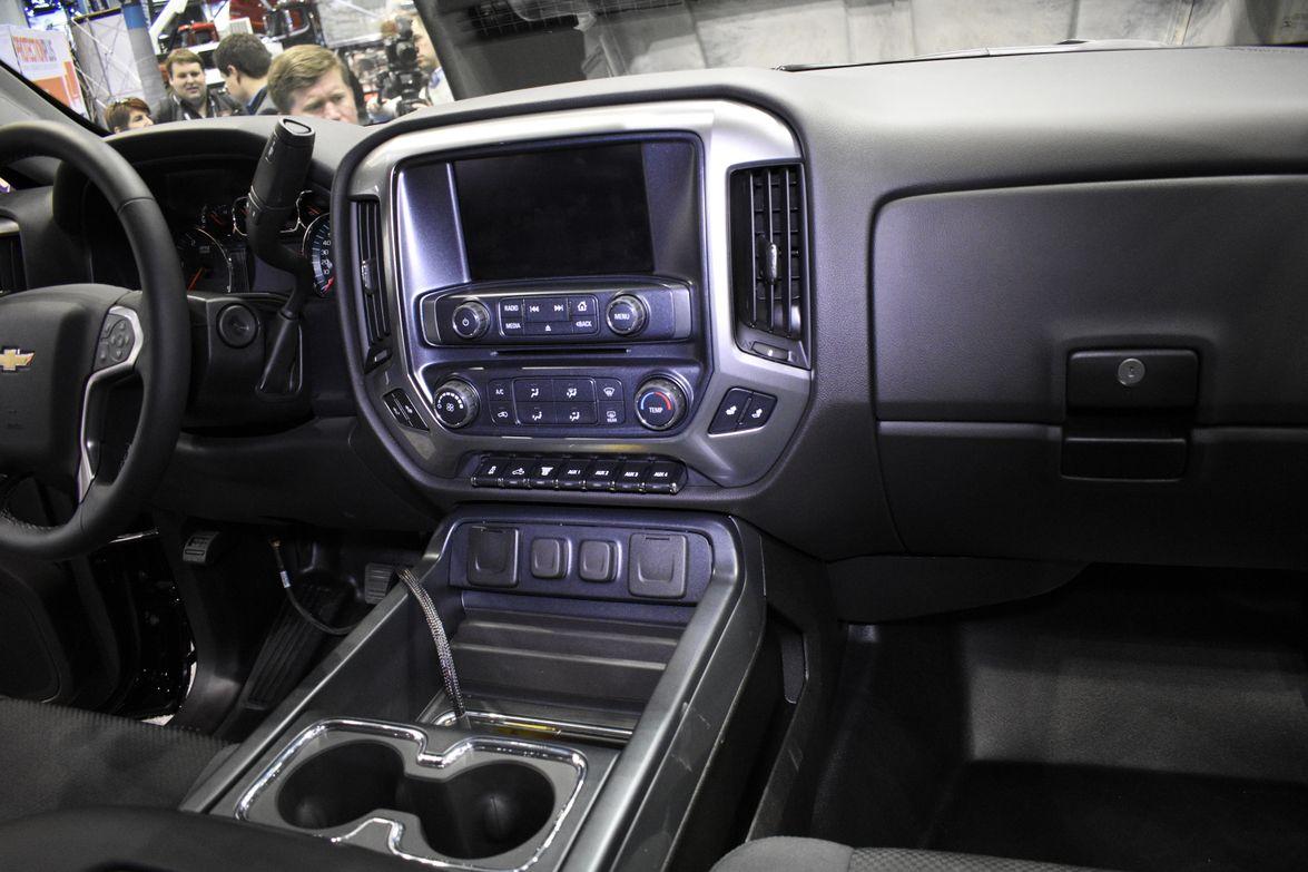 Here's a closer look inside the Silverado 4500HD.