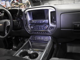 Here's a closer look inside the Silverado 4500HD.