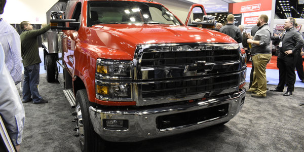 The 2019 Silverado 6500HD is one of three new medium-duty trucks from Chevrolet.