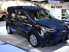 The 2019 Transit Connect cargo van will offer three engines that can run five fuel types.