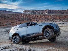 The Rock Crawl mode is designed for extremely technical, uneven terrain.