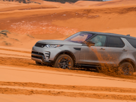 The Sand mode is best for soft, dry ground such as sand dunes and desert.