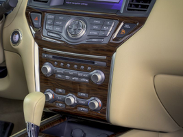 The 2013 Pathfinder features a touch-screen panel that provides access to an available...