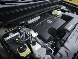 Nissan added a new 3.5L 260 hp. DOHC V-6 engine to the all-new 2013 Pathfinder.
