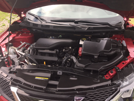 The Rogue Sport is powered by a 2.0-liter inline-four cylinder that makes up to 141 hp.